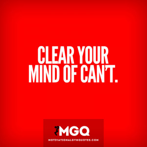 clear your mind quotes