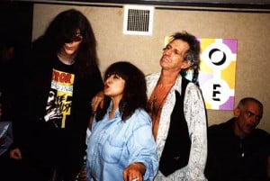 joey ramone y keith richards