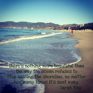 This is one of my favorite quotes about the ocean. Like the draw of ...