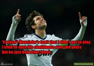 Kaka Doesn't Blame Others for His Failure .... A True Man , A True ...