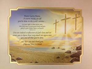 Pastor Appreciation Thank You Poems Portal