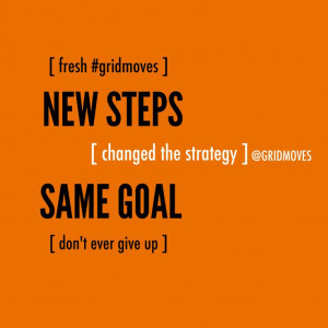 Quotes goals strategy steps