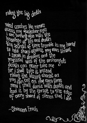 gothic death poems she longs for deaths eternal gothic genre death ...
