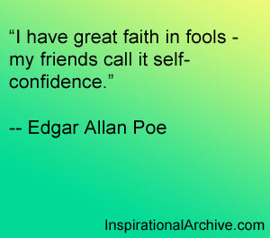 have great faith, Quotes
