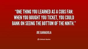 Quotes About Cub Fans
