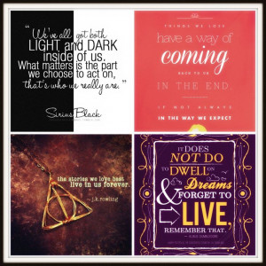 Collection of quotes from Harry Potter