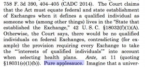 Image of quote from Supreme Court ruling courtesy of Bloomberg