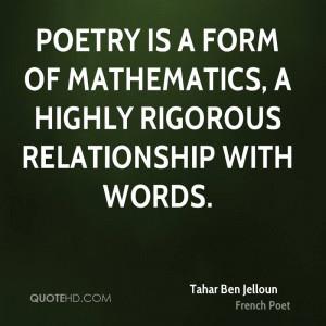 Tahar Ben Jelloun Poetry Quotes
