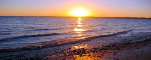 Sunset Ocean Wallpaper 2560x1024 Sunset, Ocean, Sea, Waves
