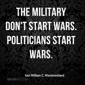 General William Westmoreland Quotes