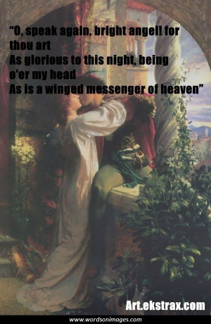 Famous quotes from romeo and juliet