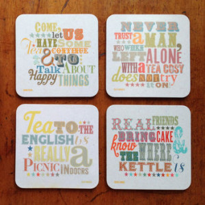 We're sorry, Pack Of Four 'Tea And Cake' Quote Coasters is no longer ...