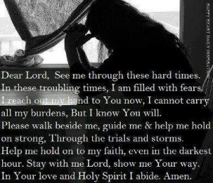 ... others is strength prayer for hope in hard times prayer quotes quote2