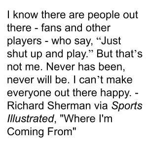 Richard Sherman Quotes