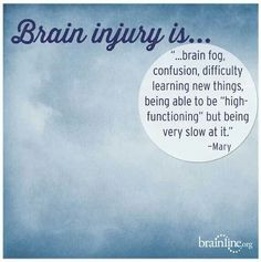 Short Quotes For Brain Injury ~ Brain injury resources on Pinterest ...