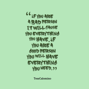 You Are A Good Person Quotes Quotes picture: if you are a