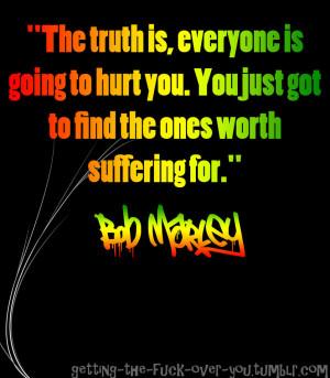 Bob Marley Quote 5 by ItachiUchihaIsMine