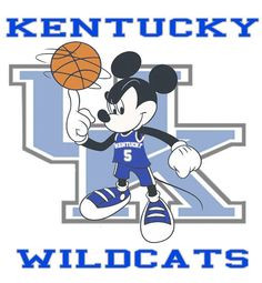 Kentucky wildcats mickey mouse