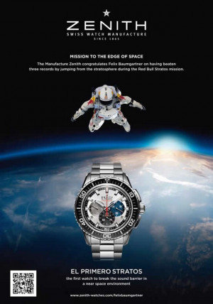 Home » Watches » Zenith El Primero Stratos Flyback Striking 10th ...