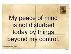 Peace and quiet pictures and quotes | ... to promote peace of mind ...