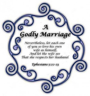 God's Plan for an Excellent Marriage