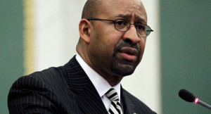 Philly mayor: NRA's 'dumb-ass idea'