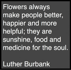 luther burbank gardening quote garden design blog