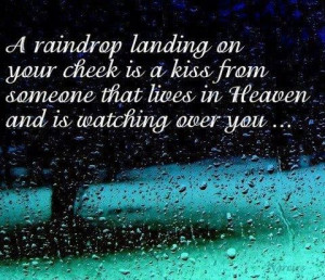 raindrop landing....that is the sweetness's thing i heard cant wait ...
