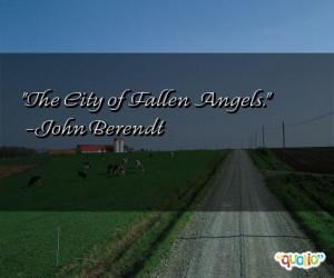 The City of Fallen Angels .