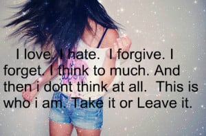 who i am quotes for girls