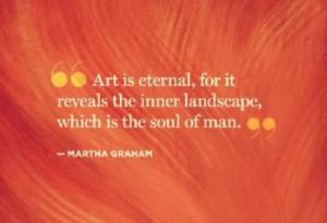 Martha Graham dance quote