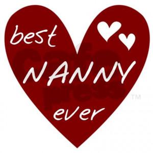 heart_best_nanny_ever_tile_coaster.jpg?height=460&width=460 ...