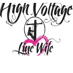high_voltage_line_wife_white_shirt_greeting_card.jpg?height=250&width ...