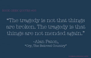 from Cry the Beloved Country