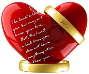 Heart Quotes: The Heart That Loves