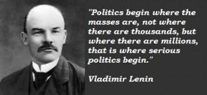 Vladimir Lenin Famous Quotes