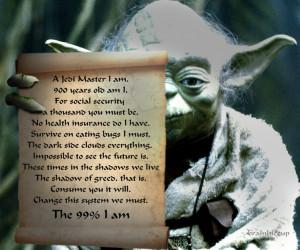 The wisdom of Yoda in a decree.