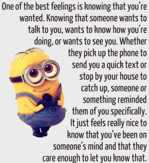 Minion Quotes on Love (7 Images)