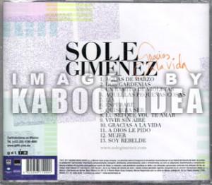 Sole Gimenez Gracias a La Vida CD