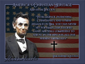 Abraham Lincoln Quotes On God On 'god and america'. biography. abraham ...