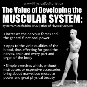 Muscular Power and Beauty by Bernarr Macfadden (1906)