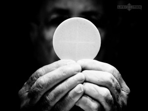 ... Eucharist and something that I think many Catholics must continually