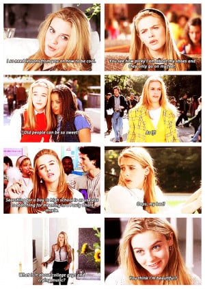 Clueless! Adaptation of Austen's Emma. This little movie is great. It ...