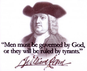 "William Penn ""Ruled by Tyrants"" T-Shirt"