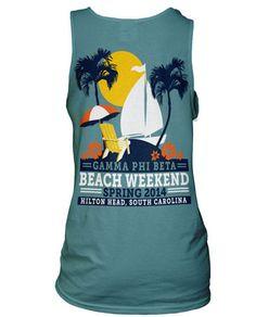 Beach / Luau Theme T-shirts
