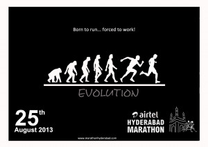 Born to run..forced to work – Running Quote