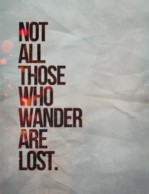 Tolkien quote.
