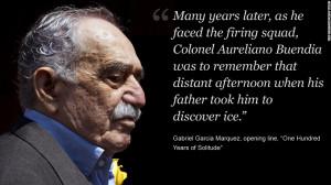 Gabriel García Márquez quotes