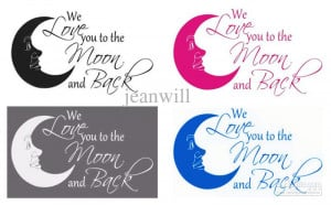 ... Wall Quote Decal Decor Sticker Nursery Baby Vinyl Wall Art Stickers