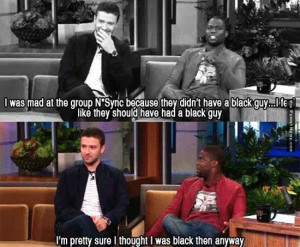 Funny meme – Black guy N'Sync